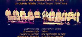 Rencontres Franciliennes du Soufisme : «Islam, une spiritualité de paix et de vivre-ensemble».