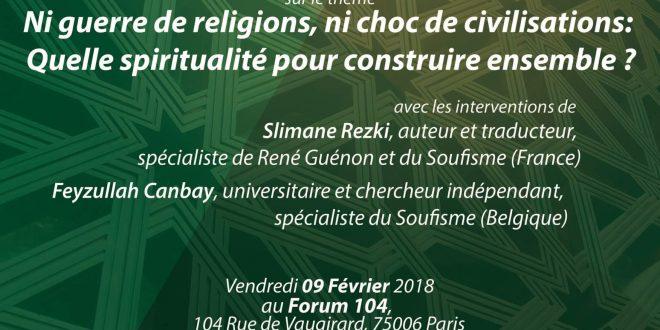 Conférences VSMF – 09 Février 2018
