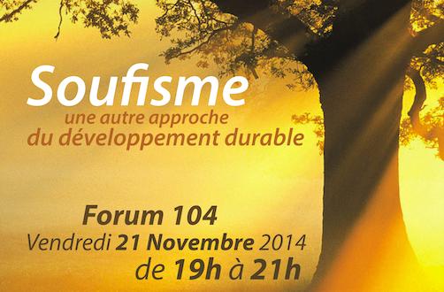 Atelier VSMF: Soufisme une autre approche du développement durable
