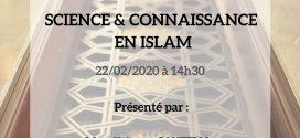 Science et connaissance en Islam