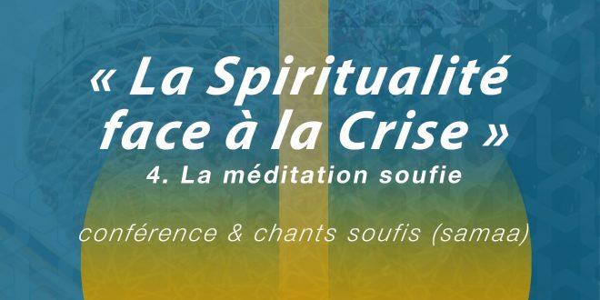 Conférence : La Spiritualité face à la Crise du 24 avril 2020