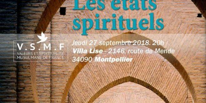 Atelier Soufi : Les états Spirituels – Montpellier