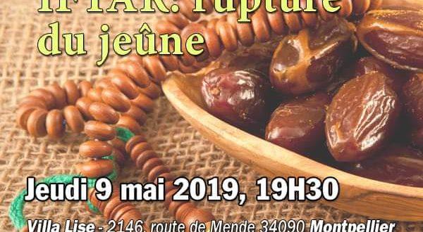 Atelier soufi : Iftar, Rupture Du Jeûne – Montpellier