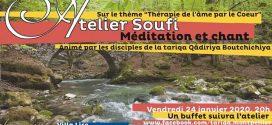 Atelier Soufi : «Thérapie de l'âme par le cœur» – Montpellier