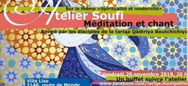 Atelier Soufi : Spiritualité et Modernité – Montpellier