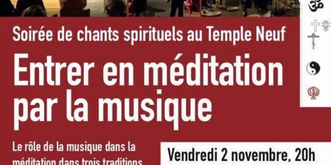 Soirée de chants spirituels au Temple Neuf – Strasbourg