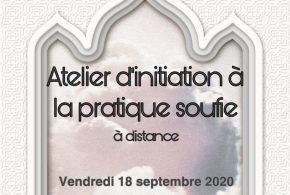 Atelier d'Initiation à la Pratique Soufie le 18 septembre de 19h à 20h